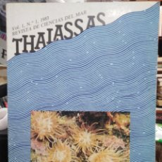 Libros: REVISTA DE CIENCIAS DEL MAR/THALASSAS-VOL 1-N°1 1983. Lote 242098125