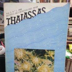 Libros: REVISTA DE CIENCIAS DEL MAR/THALASSAS-VOL 2-N°1-1984. Lote 242100850