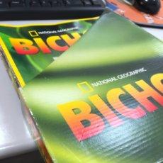 Libros: COLECCIÓN BICHOS NATIONAL GEOGRAPHIC CAJA + 18 FASCÍCULOS. Lote 243399745