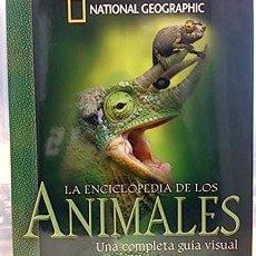 Libros: LA ENCICLOPEDIA DE LOS ANIMALES. UNA COMPLETA GUÍA VISUAL. VV.AA. NATIONAL GEOGRAPHIC RBA EDITORES. Lote 250290560