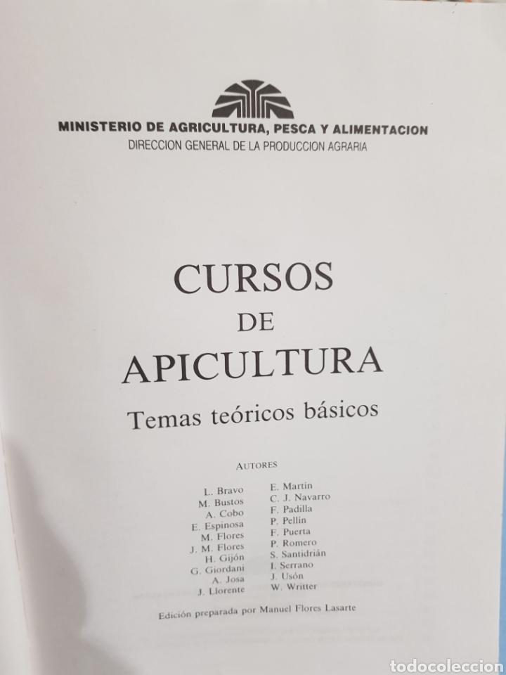 Libros: Curso de Apicultura ,edita Ministerio de Agricultura, año 1989 - Foto 2 - 251912330