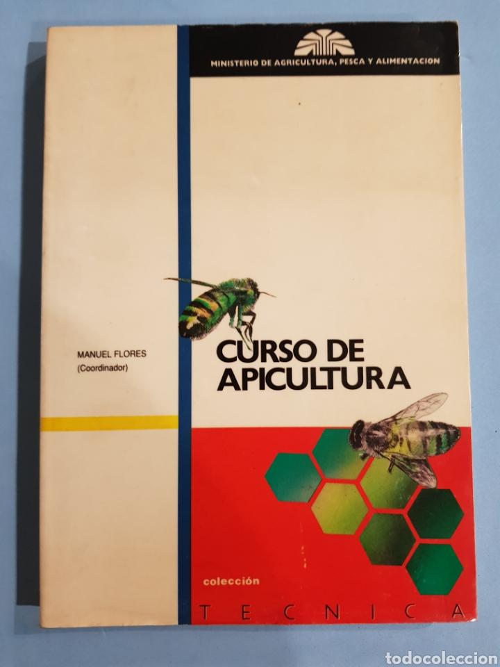 CURSO DE APICULTURA ,EDITA MINISTERIO DE AGRICULTURA, AÑO 1989 (Libros Nuevos - Ciencias, Manuales y Oficios - Biología)