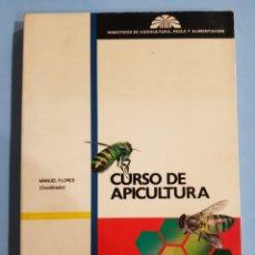 Libros: CURSO DE APICULTURA ,EDITA MINISTERIO DE AGRICULTURA, AÑO 1989. Lote 251912330
