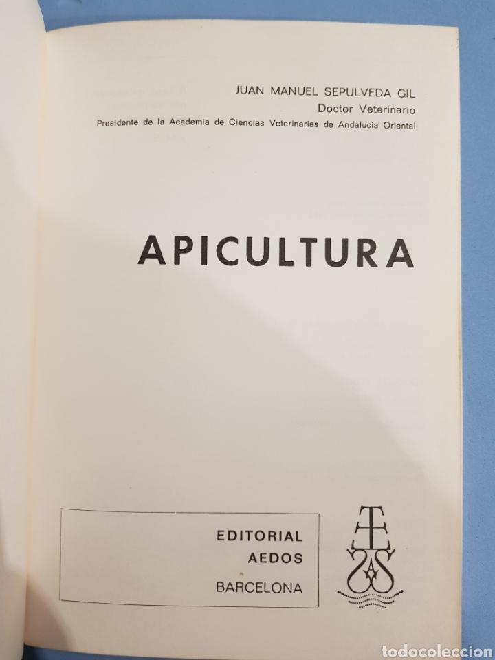 Libros: Apicultura , J.M.Sepulveda , Biblioteca Agrícola Aedos , año 1985 - Foto 2 - 251912715
