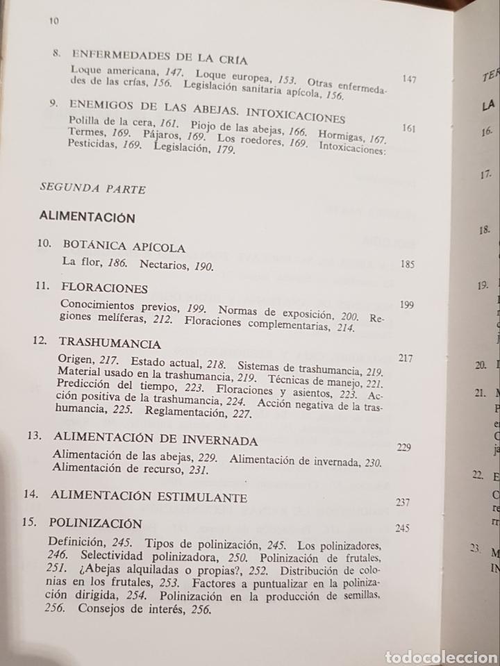 Libros: Apicultura , J.M.Sepulveda , Biblioteca Agrícola Aedos , año 1985 - Foto 5 - 251912715