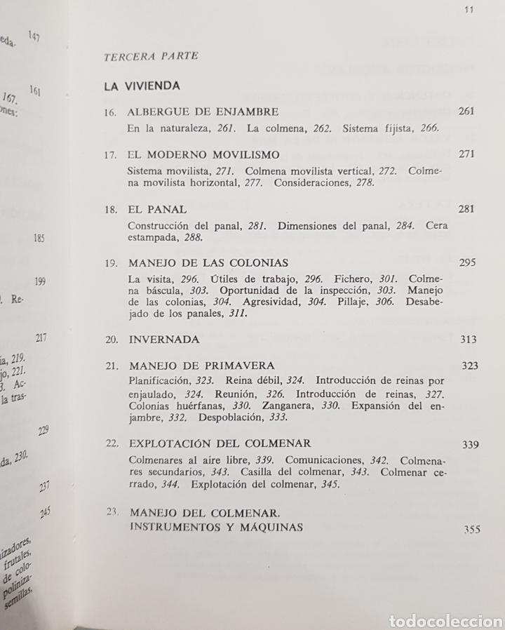 Libros: Apicultura , J.M.Sepulveda , Biblioteca Agrícola Aedos , año 1985 - Foto 6 - 251912715