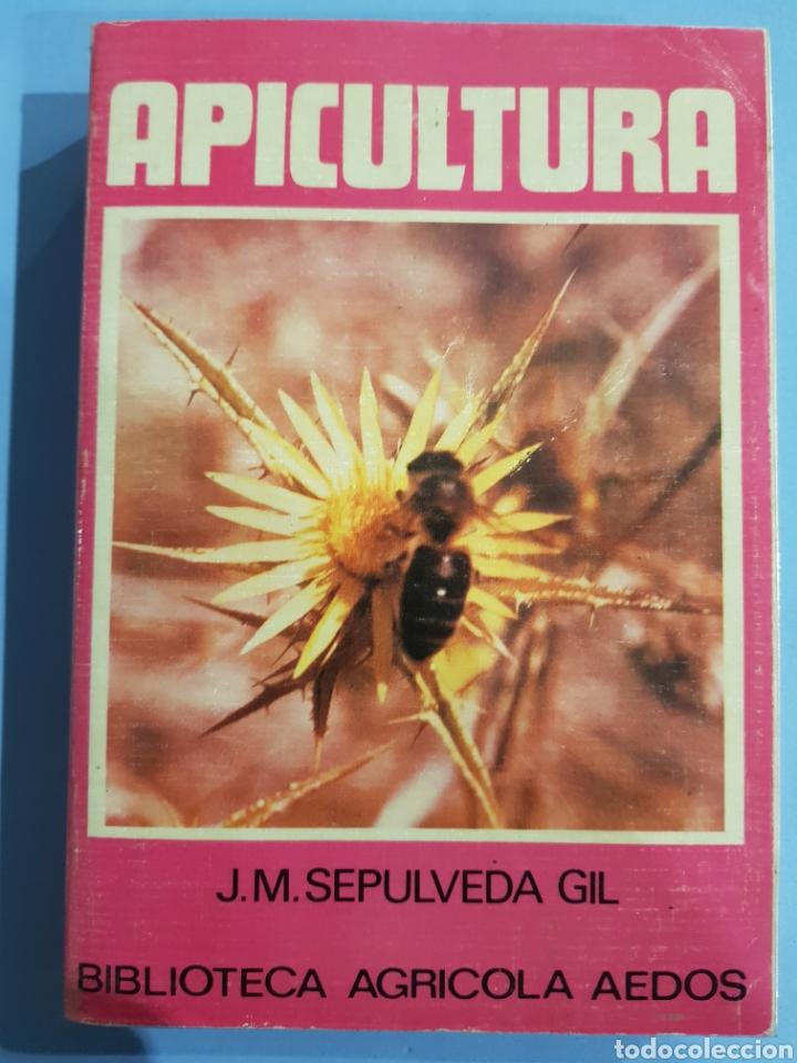 APICULTURA , J.M.SEPULVEDA , BIBLIOTECA AGRÍCOLA AEDOS , AÑO 1985 (Libros Nuevos - Ciencias, Manuales y Oficios - Biología)
