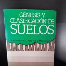 Livros: GENESIS Y CLASIFICACION DE SUELO. Lote 265489649