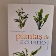 Livros: PLANTAS DE ACUARIO. Lote 265497624