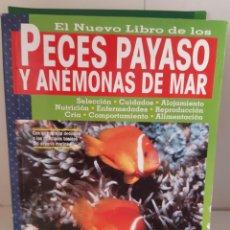 Livros: PECES PAYASO Y ANEMONAS DE MAR. Lote 265498349