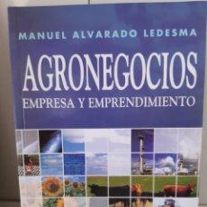 Livros: AGRONEGOCIOS EMPRESA Y EMPRENDIMIENTO. Lote 265785169