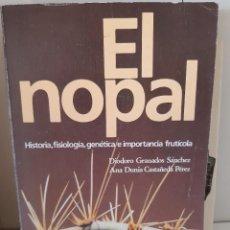 Livros: EL NOPAL. Lote 265889103