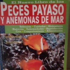 Libros: PECES PAYASO Y ANEMONAS DE MAR. Lote 266741478