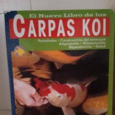 Libros: CARPAS KOI. Lote 266741523