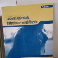 Libros: LESIONES DEL CABALLO TRATAMIENTO Y REHABILITACION MARY BROMILEY. Lote 266741583