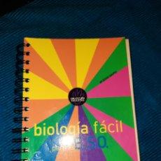 Libros: BIOLOGÍA FÁCIL, M°JESÚS GAVITO,COLECCIÓN CHULETAS, ESPASA-CALPE 2002. Lote 267528334