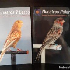 Libros: REVISTA NUESTROS PAJAROS AVES. Lote 267614719