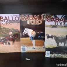 Libros: REVISTA EL CABALLO Y EL TORO 3 PRIMEROS EJEMPLARES 0+1+2. Lote 267615289