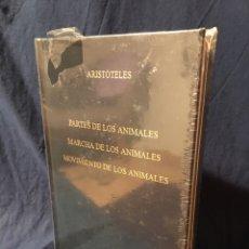Libros: PARTES , MARCHA Y MOVIMIENTO DE LOS ANIMALES, DE ARISTÓTELES. EDITORIAL GREDOS. Lote 268139154