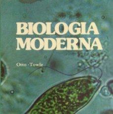 Libros: BIOLOGÍA MODERNA. OTTO - TOWLE. NUEVO. Lote 270913843