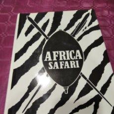 Libros: ÁFRICA SAFARI OLIVO. Lote 276151293