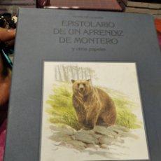 Libros: EPISTOLARIO DE UN APRENDIZ DE MONTERO. Lote 276200883