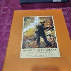 Libros: PERFILES EN LA SOLANA. Lote 276202773