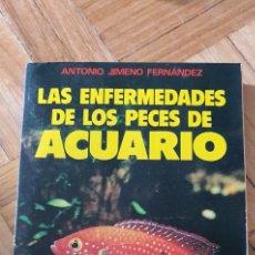 Libros: LAS ENFERMEDADES DE LOS PECES DE ACUARIO. Lote 277279948