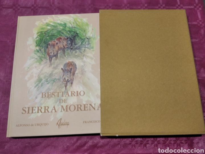 BESTIARIO DE SIERRA MORENA ALFONSO URQUIJO (Libros Nuevos - Ciencias, Manuales y Oficios - Biología)