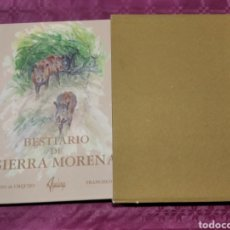 Libros: BESTIARIO DE SIERRA MORENA ALFONSO URQUIJO. Lote 277518163