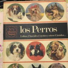 Libros: LOS PERROS. LOBOS, CHACALES, COYOTES Y OTROS CÁNIDOS. ALBUMS NOGUER.. Lote 278585063