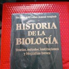Libros: HISTORIA DE LA BIOLOGÍA. TEORÍAS, MÉTODOS, INSTITUCIONES Y BIOGRAFÍAS BREVES. Lote 287238733