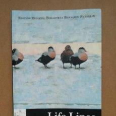 Libros: LIFE LINES. SEÑALES DE VIDA - ADRIAN BURTON - NUEVO. Lote 287313558