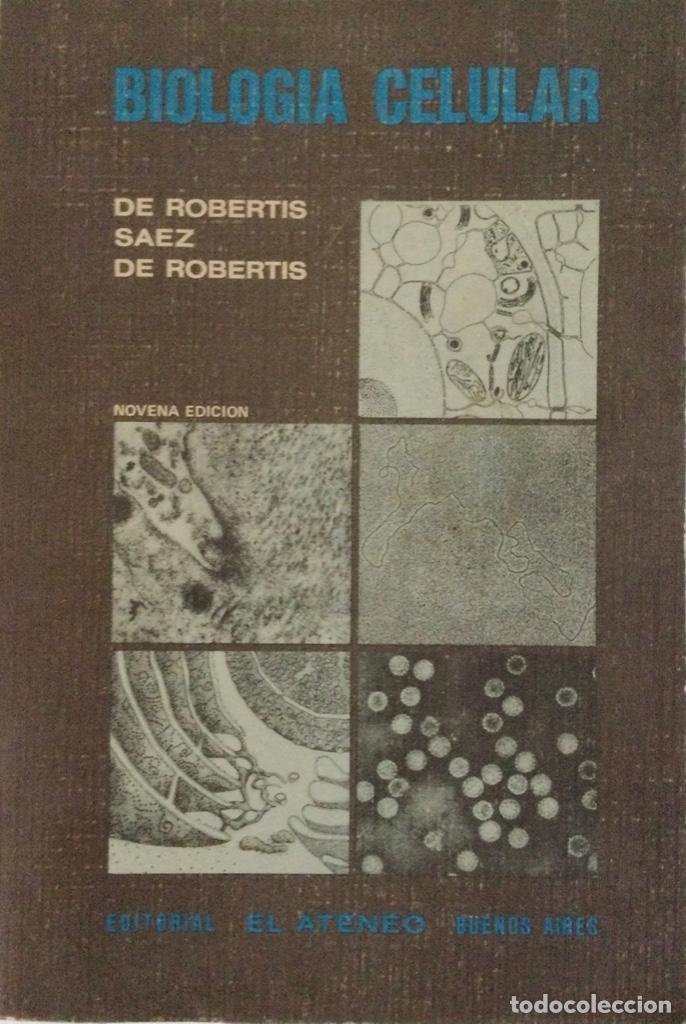 BIOLOGÍA CELULAR. DE ROBERTIS. NUEVO (Libros Nuevos - Ciencias, Manuales y Oficios - Biología)