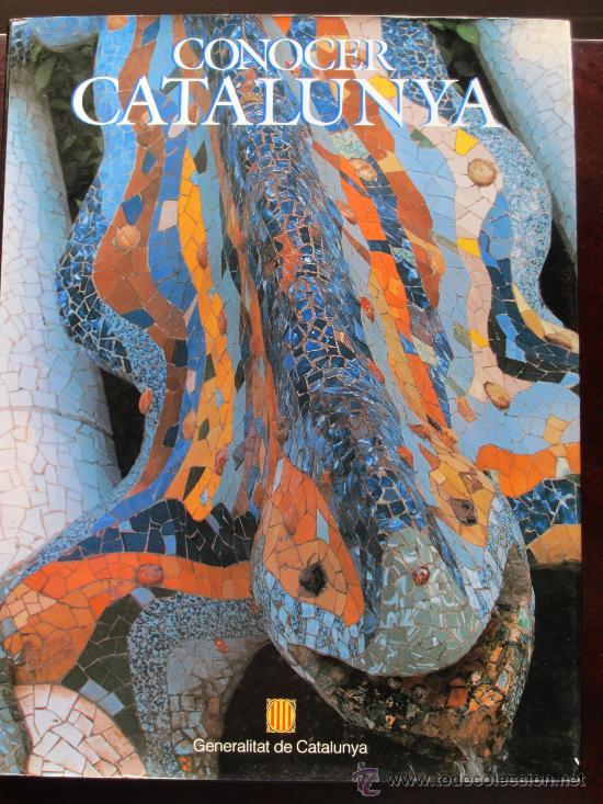 CONOCER CATALUNYA - GENERALITAT DE CATALUNYA - JOSEP MARIA PUIGJANER 1992 VALORADO EN 80 EUROS (Libros Nuevos - Idiomas - Catalán )