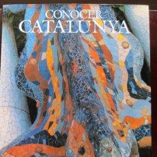 Libros: CONOCER CATALUNYA - GENERALITAT DE CATALUNYA - JOSEP MARIA PUIGJANER 1992 VALORADO EN 80 EUROS. Lote 27449606