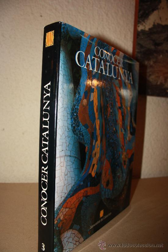 Libros: CONOCER CATALUNYA - Generalitat de catalunya - Josep Maria Puigjaner 1992 VALORADO EN 80 EUROS - Foto 2 - 27449606