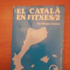 Libros: LIBRO, EL CATALA EN FITXES / 2 , JOSEP, RUAIX I VINYET-. Lote 30546431
