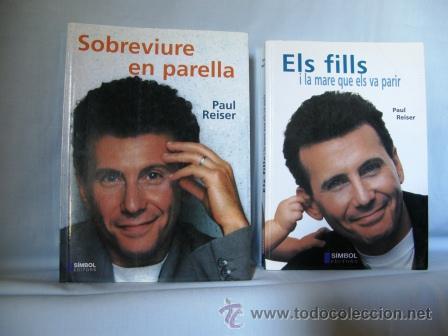 LOTE DOS LIBROS:SOBREVIURE EN PARELLA+ELS FILLS I LA MARE QUE ELS VA PARIR **PAU REISER** (Libros Nuevos - Idiomas - Catalán )
