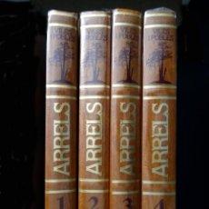 Libros: ARRELS. VILES I POBLES. 4 VOLUMS TAPA DURA – EDICIONS MATEU 1985 - NUEVO (RETRACTILADOS). Lote 74156143