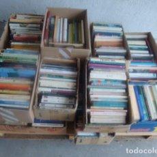 Livres: LOT DE 400 LLIBRES USATS EN CATALÀ- LOTE DE 400 LIBROS USADOS EN CATALÁN- IDEAL PER A MERCATS DE SE. Lote 93640850