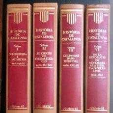 Libros: HISTORIA DE CATALUNYA. Lote 93676730