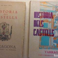 Libros: HISTORIA DELS CASTELLS. Lote 101221511