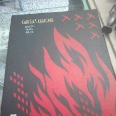 Libros: LIBRO ELS CARTELLS CATALANS. Lote 107752815