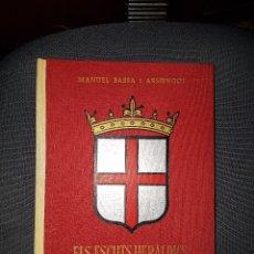 Livres: ESCUTS DELS POBLES DE CATALUNYA 1968. Lote 118770543