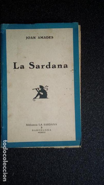 CATALUNYA. LA SARDANA. CATALUÑA. FOLKLORE CATALÁN. (Libros Nuevos - Idiomas - Catalán )
