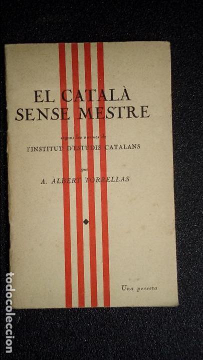 GRAMÁTICA CATALANA. CATALUNYA. CATALUÑA. (Libros Nuevos - Idiomas - Catalán )