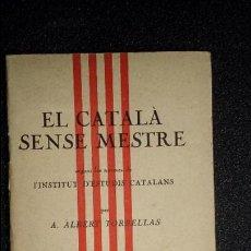 Libros: GRAMÁTICA CATALANA. CATALUNYA. CATALUÑA.. Lote 125191967
