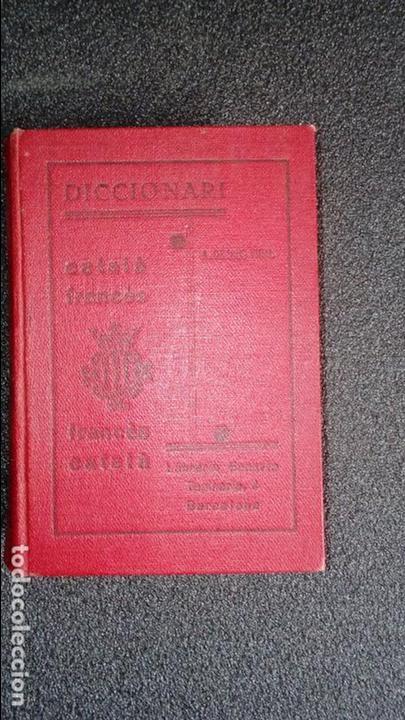 DICCIONARIO CATALÁN-FRANCÉS. DICCIONARI CATALÁ. CATALUNYA. (Libros Nuevos - Idiomas - Catalán )