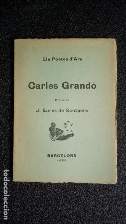 POESÍA CATALANA. CATALUNYA. CATALUÑA. (Libros Nuevos - Idiomas - Catalán )